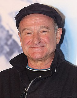 Robin Williams American actor and comedian