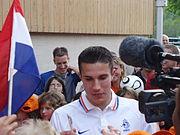 Van Persie tijdens het WK 2006.