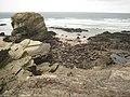 Rocks off Trevelgue Head - geograph.org.uk - 1593640.jpg