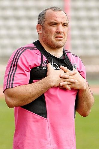Asociación Deportiva Francesa - Image: Rodrigo Roncero Stade francais 2012 03 03