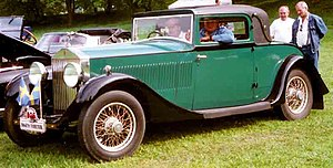 Rolls-Royce 20/25 - Image: Rolls Royce 20 25 HP Coupe 1932