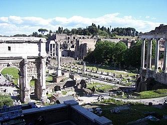 Roman Forum from northwest 2.jpg