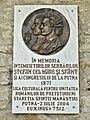 Romania Putna Monastery Eminescu Slavici.jpg