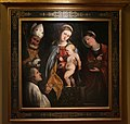 Romanino, madonna col bambino tra i ss. nicola e dorotea, 1545 ca.jpg