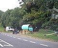 Romany Caravan by the side of the Fosse Way - geograph.org.uk - 554710.jpg