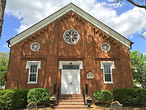 Literary Hall - Image: Romney Presbyterian Church Romney WV 2015 05 10 07
