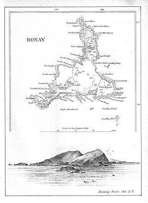 North Rona - Image: Ronay island