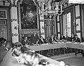 Rondetafelconferentie in de Treveszaal Overzicht van de zitting, Bestanddeelnr 912-5308.jpg