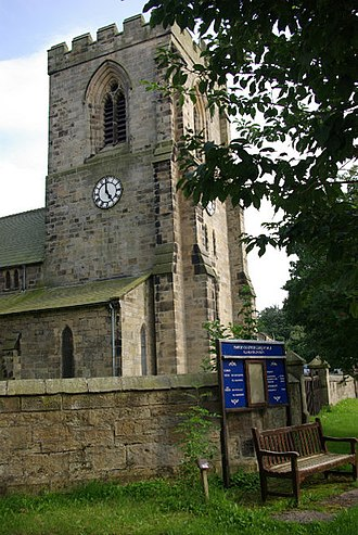 Rothbury - All Saints' Church incorporates materials from an ancient Anglo-Saxon place of worship