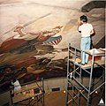 Rotunda Apotheosis restoration August 1987 (16028227951).jpg