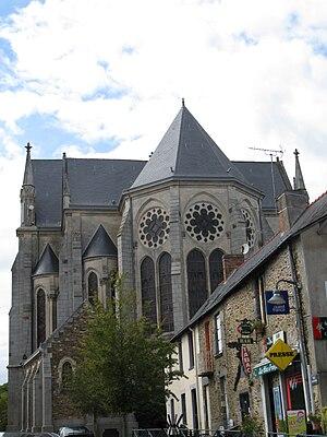 Rougé - The church of Saint-Pierre-et-Saint-Paul, in Rougé