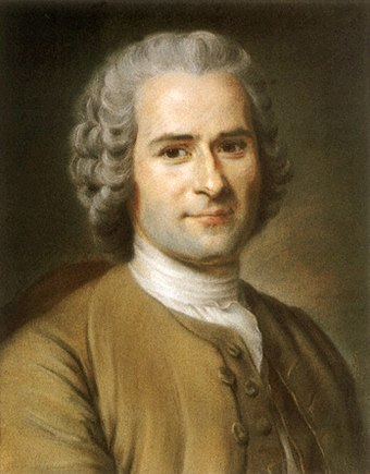 Like other Enlightenment philosophers, Rousseau was critical of the Atlantic slave trade Rousseau.jpg