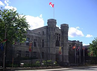 historic buildings of the Royal Canadian Mint in Ottawa