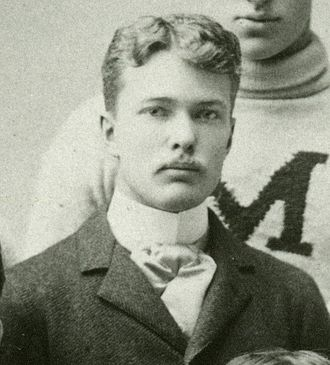 Royal T. Farrand - Farrand in 1891 as team manager