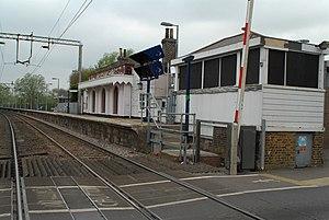 Roydon railway station - Image: Roydon Railway Station