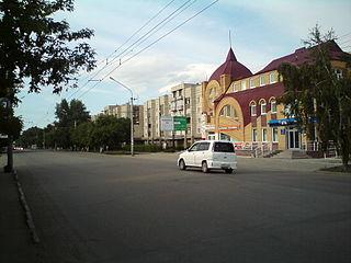 Rubtsovsk City in Altai Krai, Russia