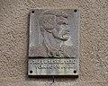 Rudná-Dušníky, Havlíčkovo náměstí 23, Karel Havlíček Borovský.jpg
