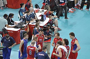 Russia men's national volleyball team - Russia Team at Olympic 2012