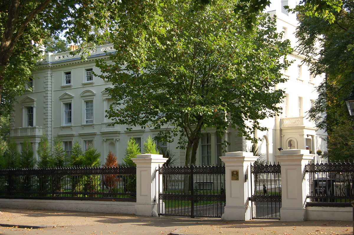 Image result for PHOTO OF RUSSIAN EMBASSY IN LONDON