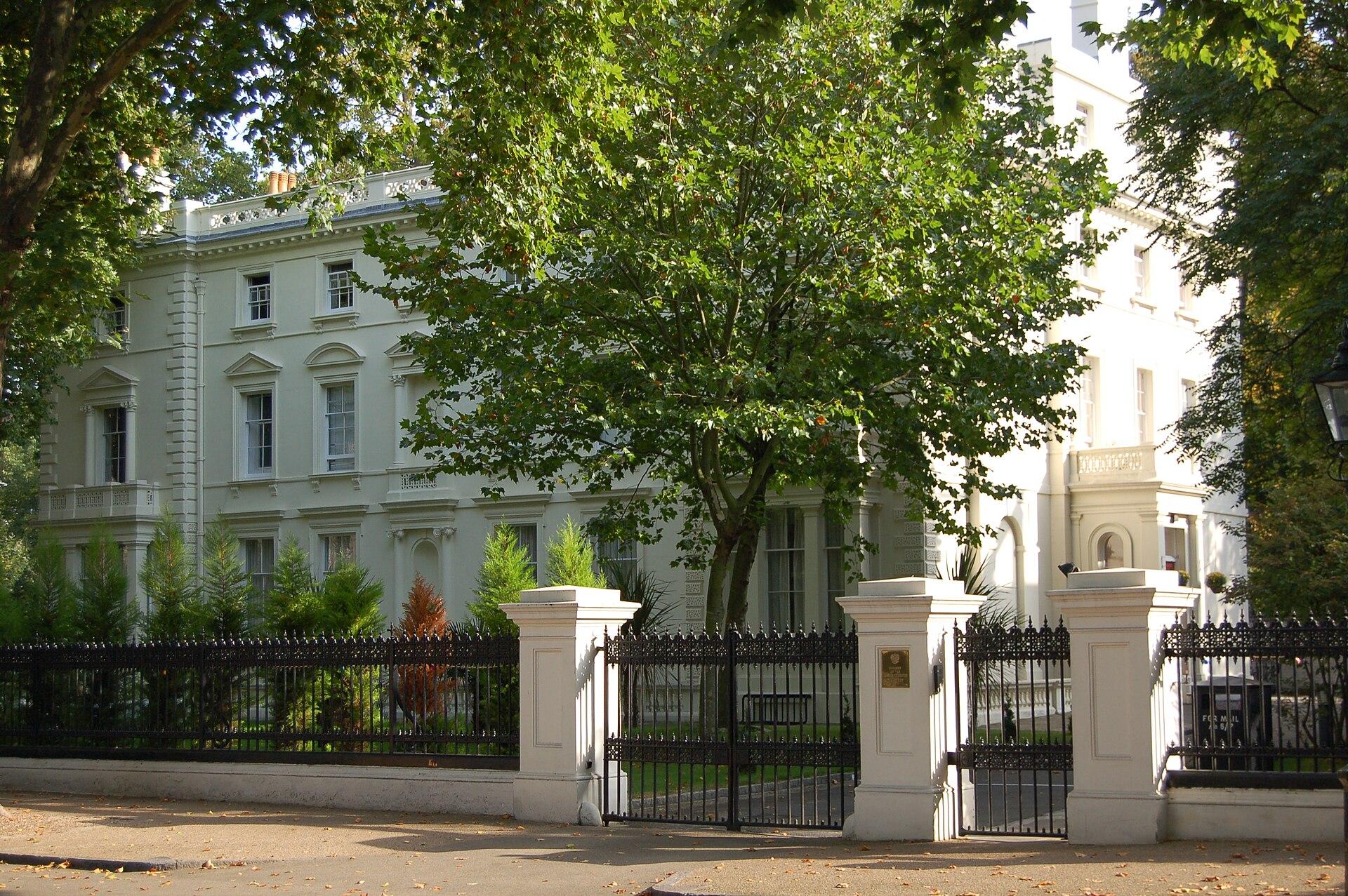 Kensington palace gardens wikipedia for The kensington house