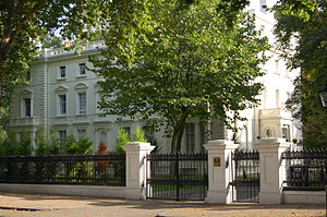Kensington Palace Gardens - Chancery of the Russian Federation