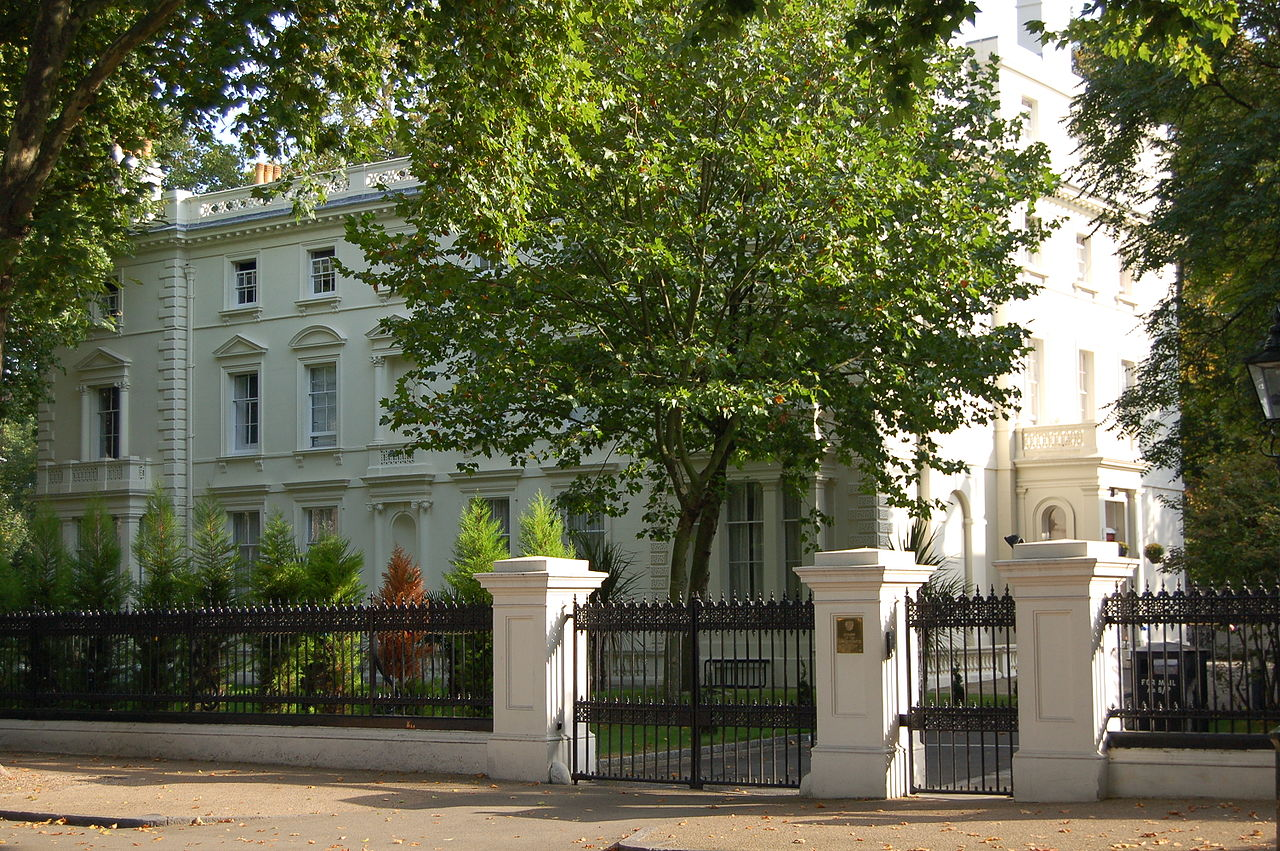 Embassy of Russia, London -