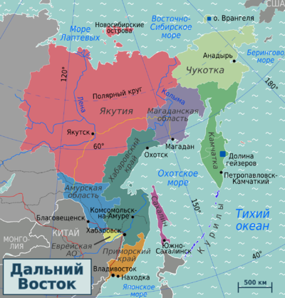 Russian Far East regions map2 (ru).png