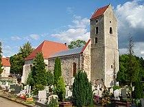 Ruszów, Odremontowane ruiny kościoła.jpg