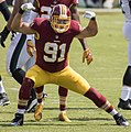 Ryan Kerrigan sack celebration (cropped).jpg