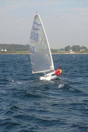 Finn (dinghy) - Finn dinghy