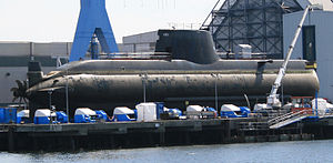 Greek submarine S-120 Papanikolis (214 type) a...