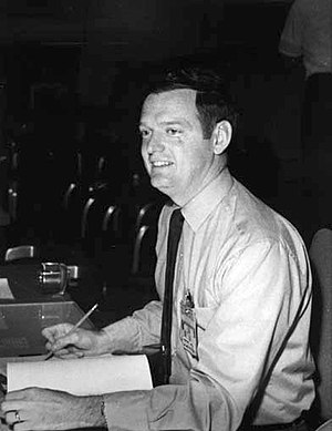 Glynn Lunney - Lunney on console during the Apollo 16 mission
