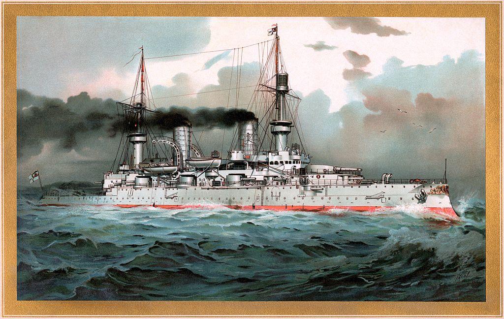 S.M. Linienschiff Kaiser Wilhelm II - restoration.jpg