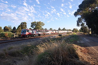 SCT Logistics - SCT class locomotives at Hazelmere in December 2008