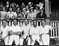 SLNSW 14178 Group of women cricket barrackers with five cricketers.jpg