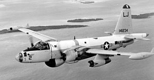 SP-2H Neptune VP-23 in flight 1960s.jpg