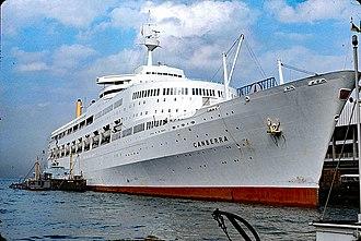 P&O Cruises - Image: SS Canberra