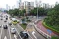 SZ 深圳市 Shenzhen 福田 Futian 福中路 Fuzhong Road 彩田路 Caitian Road Sept 2017 IX1 05.jpg