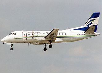 BMI Regional - A former Business Air Saab 340
