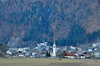 Sachsenburg Place in Carinthia, Austria