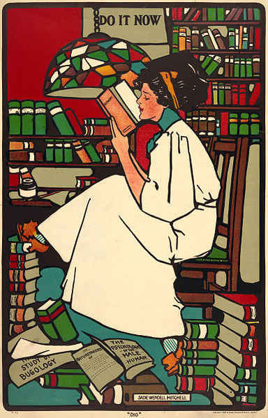 """File:Sadie Wendell Mitchell, """"Dig"""", 1909.jpg"""