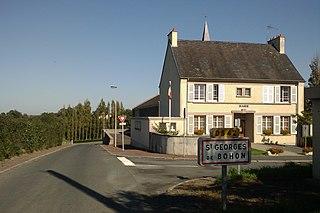 Saint-Georges-de-Bohon Part of Terre-et-Marais in Normandy, France