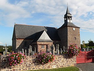 Saint-Gonlay Commune in Brittany, France