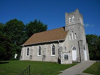St. Barnabas Episcopal Church (Montrose, Iowa) church building in Iowa, United States of America