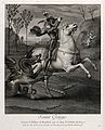 Saint George. Engraving by N. de Larmessin after Raphael. Wellcome V0033463.jpg
