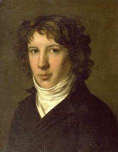 Pierre-Paul Prud'hon, Portrait de Louis de Saint-Just (1793), musée des Beaux-Arts de Lyon