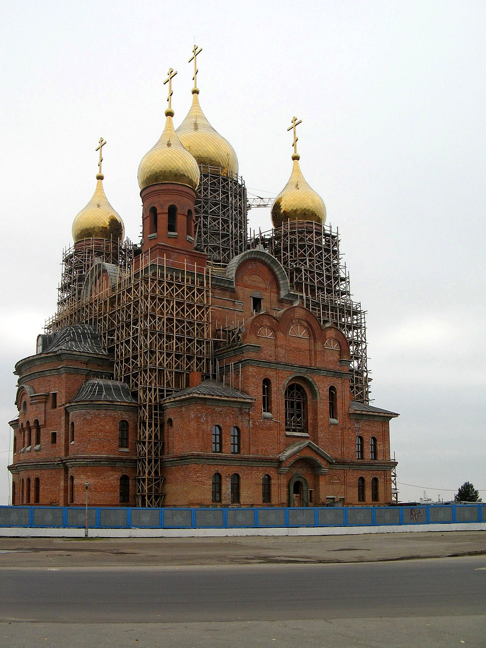 Saint Michael Archangel Cathedral (new) in Arkhangelsk