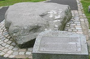 Downpatrick - Reputed grave of St. Patrick