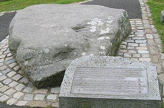 Saint Patrick - The reputed burial place of Saint Patrick in Downpatrick