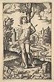Saint Sebastian tied to a tree pierced by arrows MET DP824396.jpg